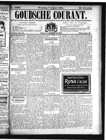 Goudsche Courant 1914-01-07