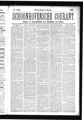 Schoonhovensche Courant 1896-03-11