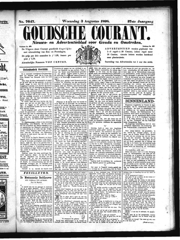Goudsche Courant 1898-08-03