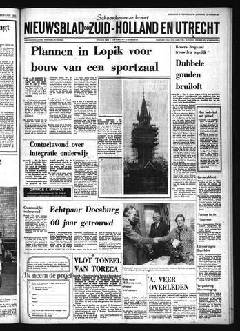 Schoonhovensche Courant 1976-02-25