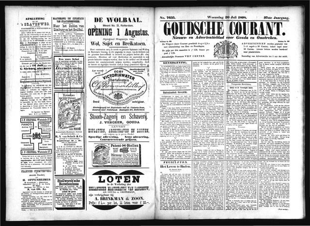 Goudsche Courant 1898-07-20