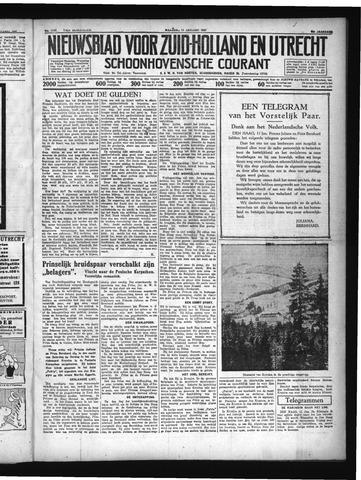 Schoonhovensche Courant 1937-01-11