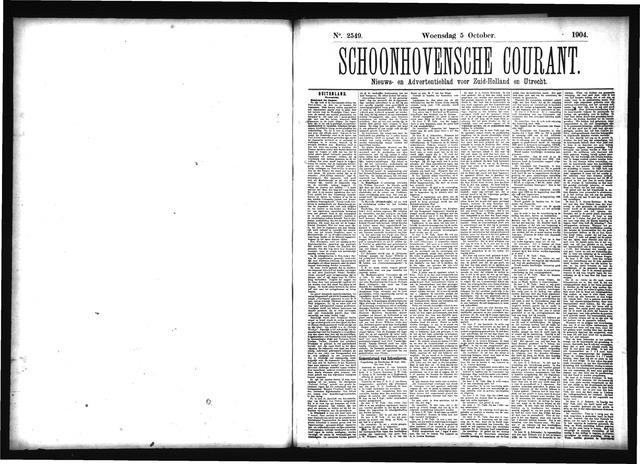 Schoonhovensche Courant 1904-10-05