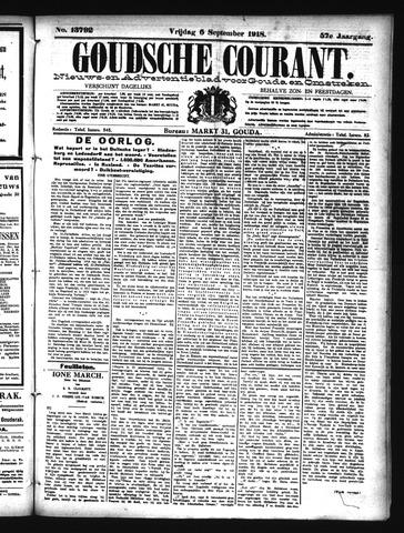 Goudsche Courant 1918-09-06