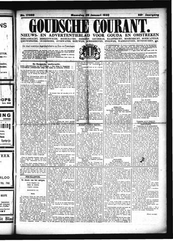 Goudsche Courant 1930-01-20