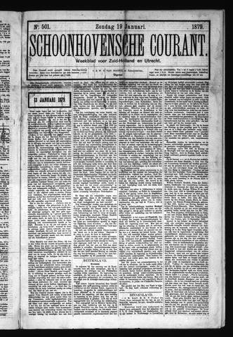 Schoonhovensche Courant 1879-01-19