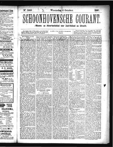 Schoonhovensche Courant 1897-10-06