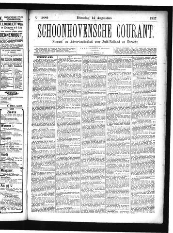 Schoonhovensche Courant 1917-08-14