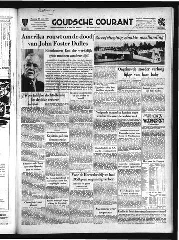 Goudsche Courant 1959-05-25