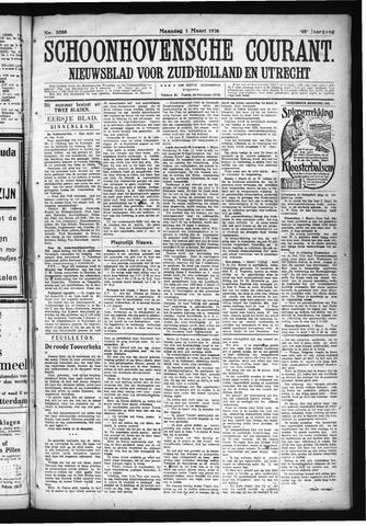 Schoonhovensche Courant 1926-03-01