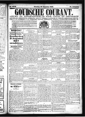 Goudsche Courant 1922-08-29