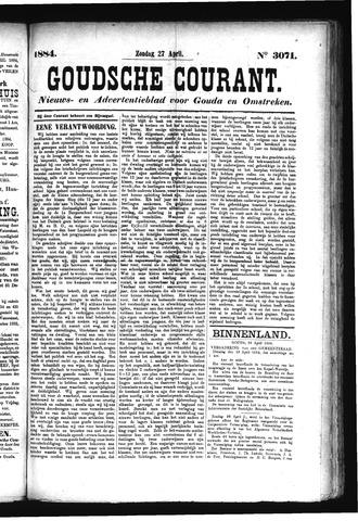 Goudsche Courant 1884-04-27