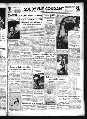 Goudsche Courant 1958-01-06