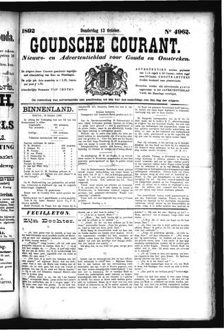 Goudsche Courant 1892-10-13