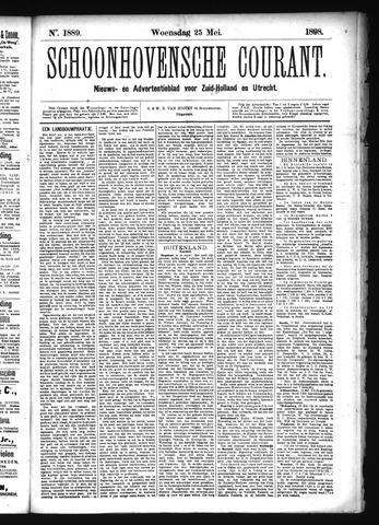 Schoonhovensche Courant 1898-05-25