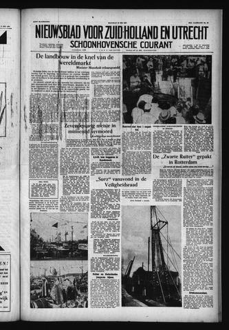 Schoonhovensche Courant 1957-05-20