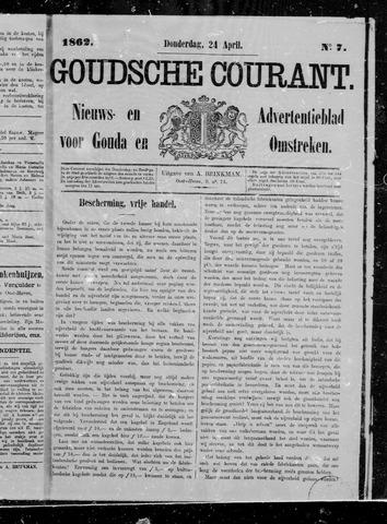 Goudsche Courant 1862-04-24