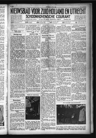 Schoonhovensche Courant 1932-04-06