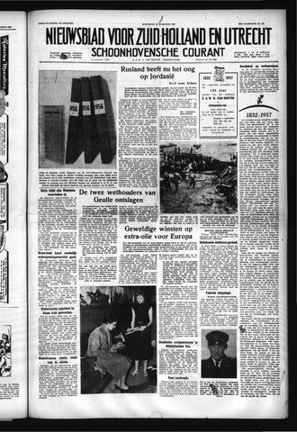Schoonhovensche Courant 1957-08-28