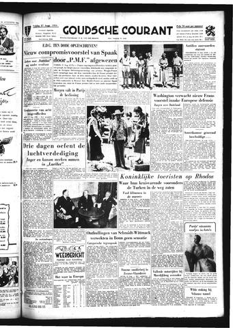 Goudsche Courant 1954-08-27