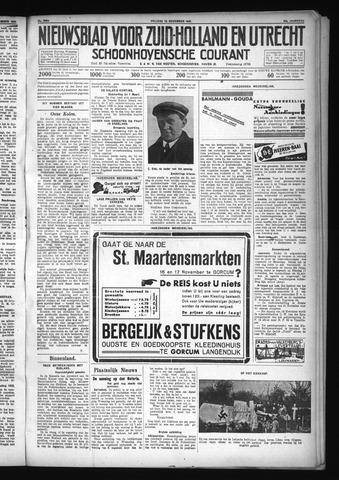Schoonhovensche Courant 1931-11-13