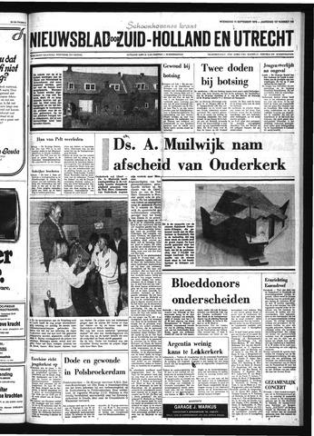 Schoonhovensche Courant 1976-09-15