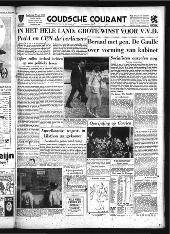 Goudsche Courant 1958-05-29