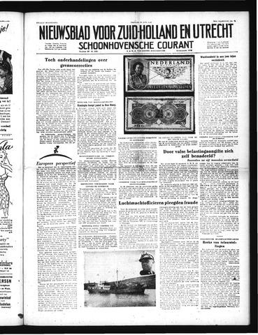 Schoonhovensche Courant 1952-06-20