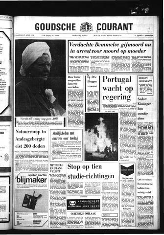 Goudsche Courant 1974-04-29
