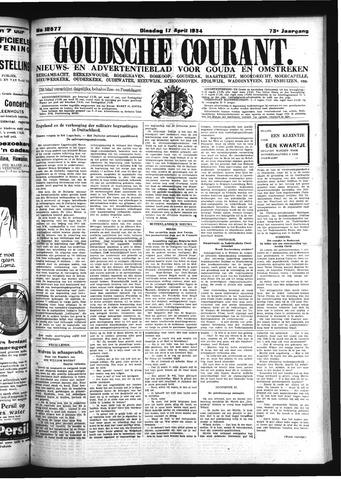 Goudsche Courant 1934-04-17