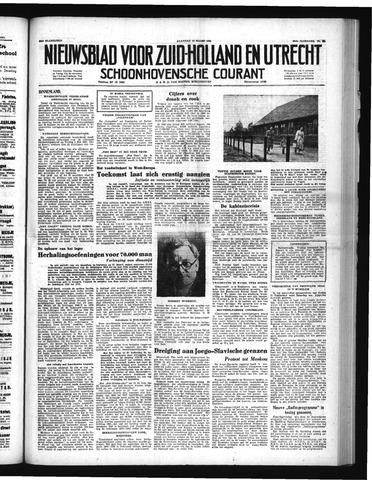 Schoonhovensche Courant 1951-03-12