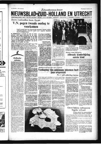 Schoonhovensche Courant 1967-10-25