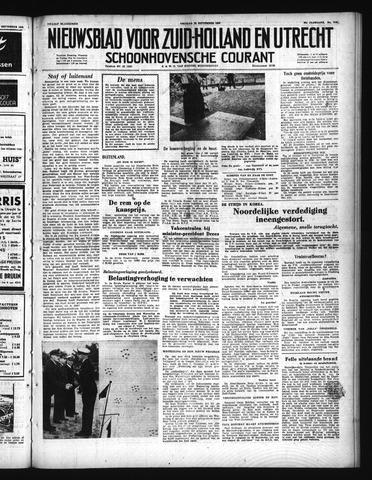 Schoonhovensche Courant 1950-09-29