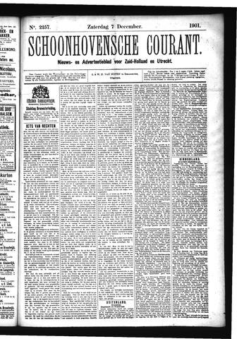 Schoonhovensche Courant 1901-12-07