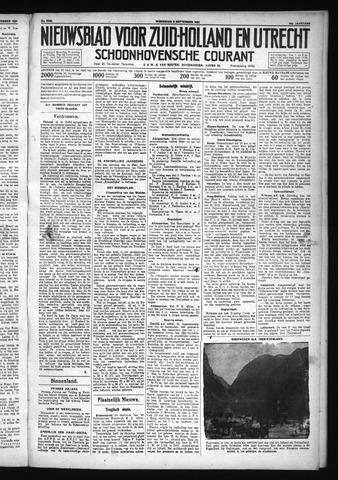 Schoonhovensche Courant 1931-09-09