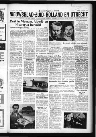 Schoonhovensche Courant 1960-11-14