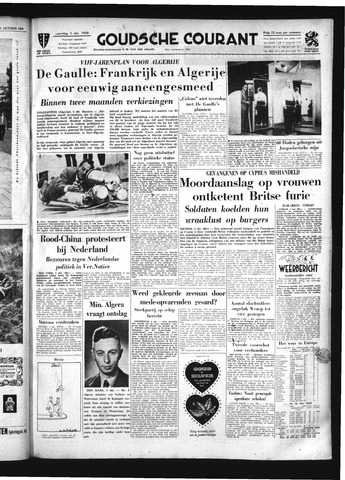 Goudsche Courant 1958-10-04