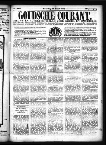 Goudsche Courant 1926-03-22