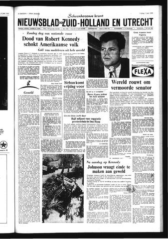 Schoonhovensche Courant 1968-06-07
