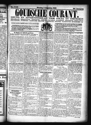 Goudsche Courant 1930-08-05