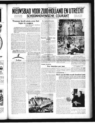 Schoonhovensche Courant 1952-07-02