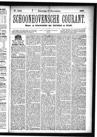 Schoonhovensche Courant 1897-12-11