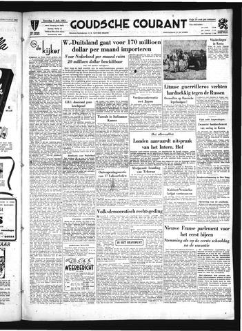 Goudsche Courant 1951-07-07