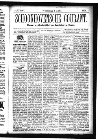 Schoonhovensche Courant 1904-04-06