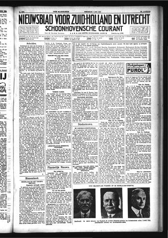 Schoonhovensche Courant 1933-06-07