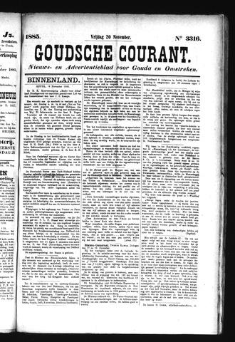 Goudsche Courant 1885-11-20