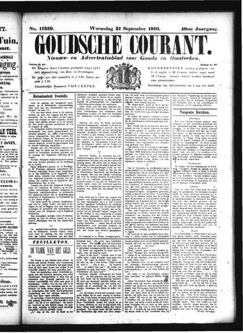 Goudsche Courant 1910-09-21