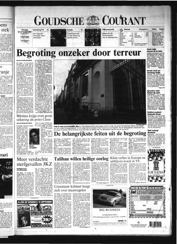 Goudsche Courant 2001-09-18