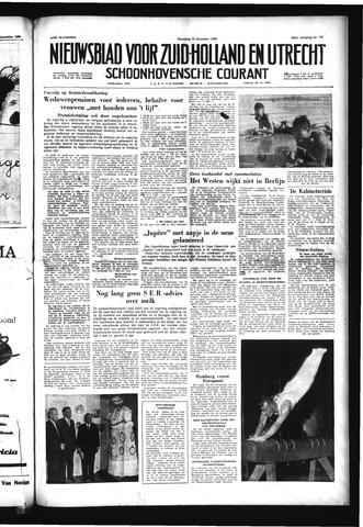 Schoonhovensche Courant 1958-12-15