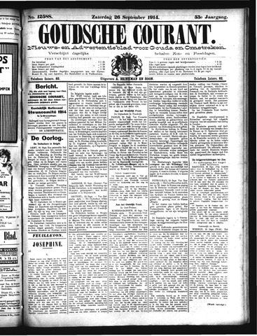 Goudsche Courant 1914-09-26